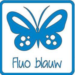 Flex fluo blauw A0027