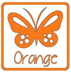 matte vinyl oranje