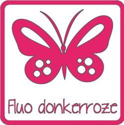 Flex fluo donkerroze A0025