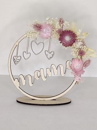 Cirkel mama bloemen