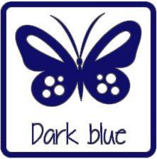 matte vinyl Navyblauw