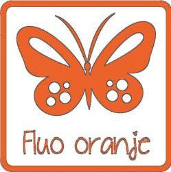 Flex fluo oranje A0023