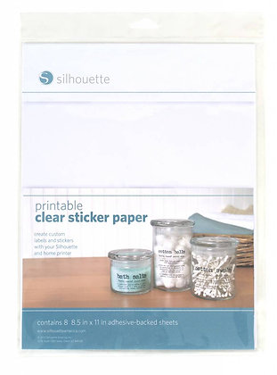 transparant stickerpapier