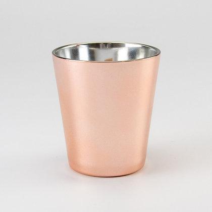 Geurkaars  rosé goud V-shape