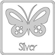 glans vinyl ZILVER RI181
