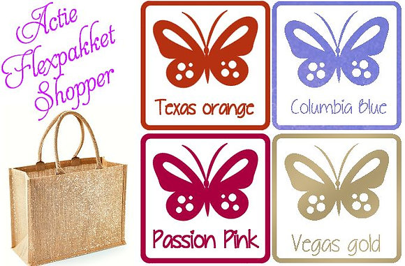 Flexpakket shopper + nieuwe flex sisser