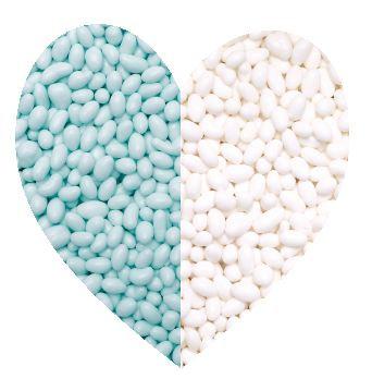Tic tac snoepjes mix blauw/wit 500 gram