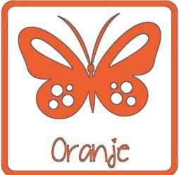 Flex stretch Oranje ST0006
