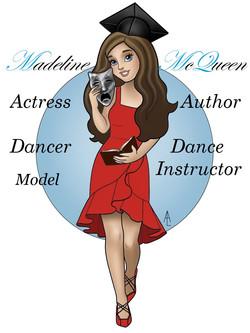 Cartoon Princess depiction of me