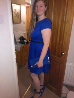 Me dressed up as Elise Lomax