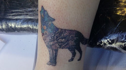 My left ankle tattoo