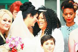 Mrs & Mrs Ferguson's Wedding Day.