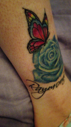 My right ankle tattoo