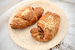 Croissanty ořechové