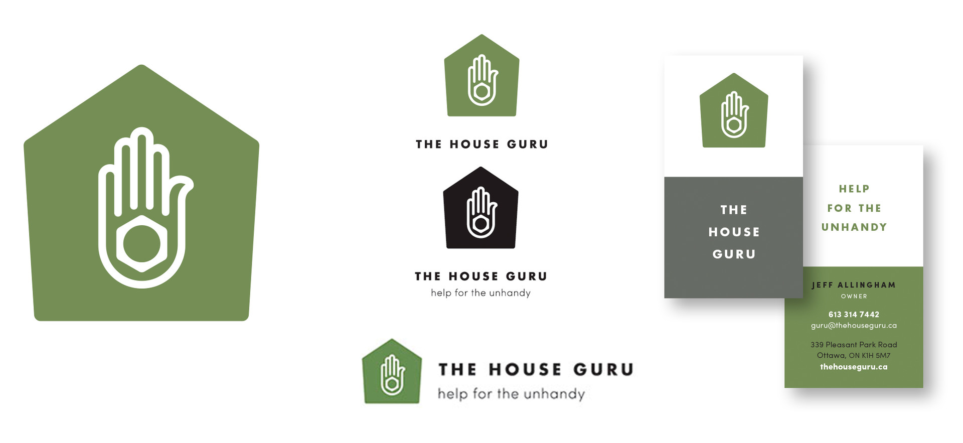 The House Guru brand & applications