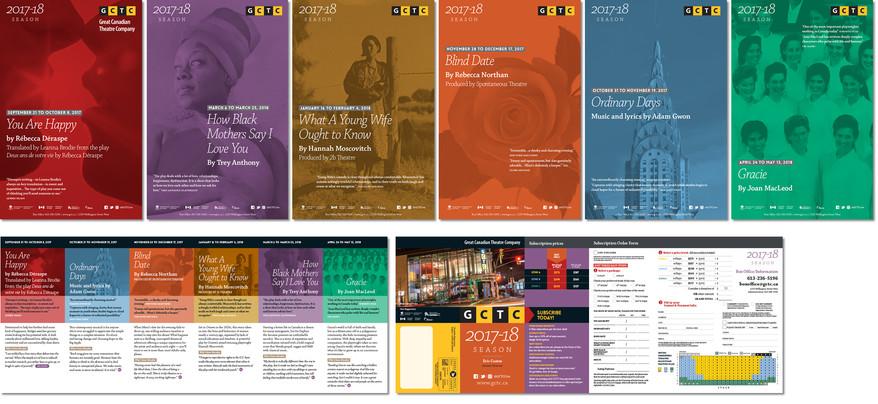 GCTC 2016-17 Season Posters & Program