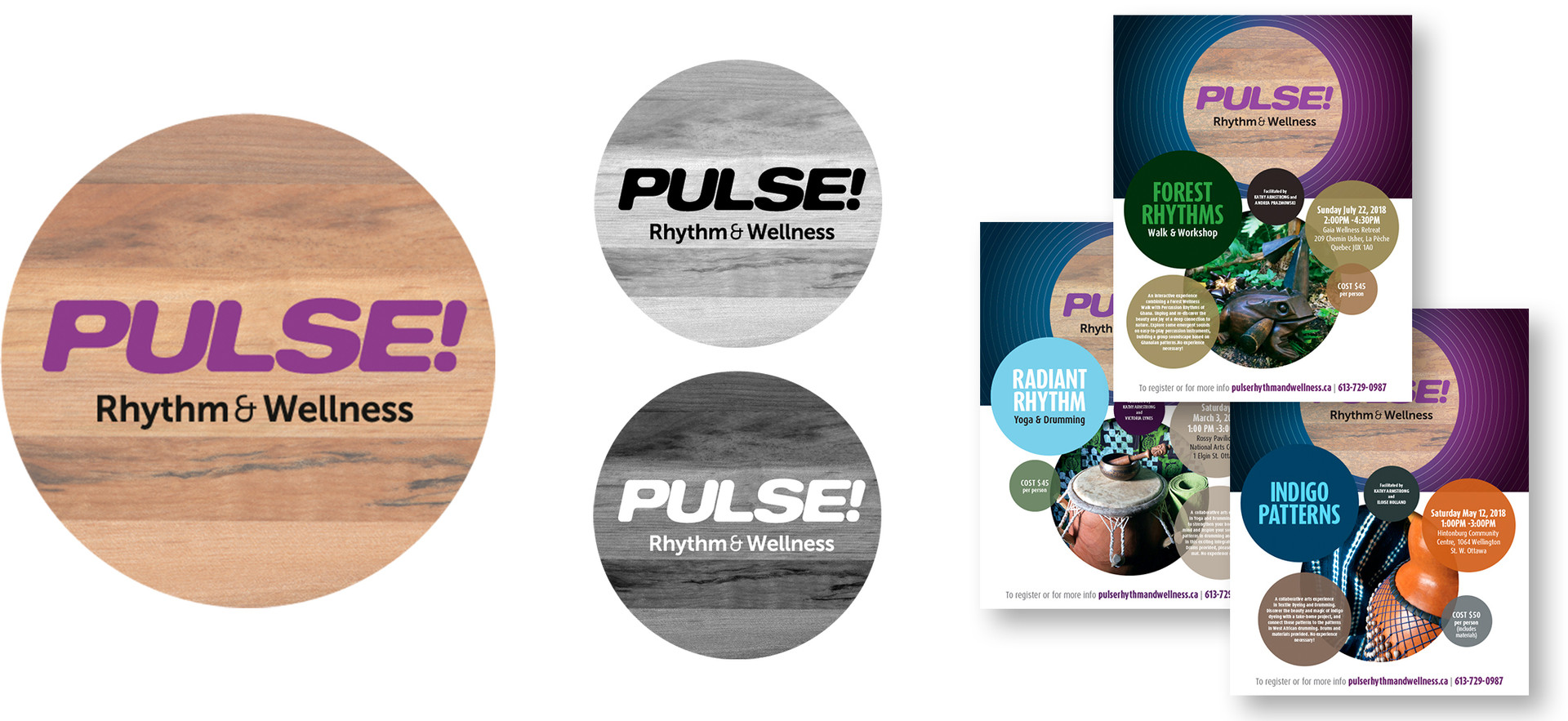 Pulse! | Rhythm & Wellness brand