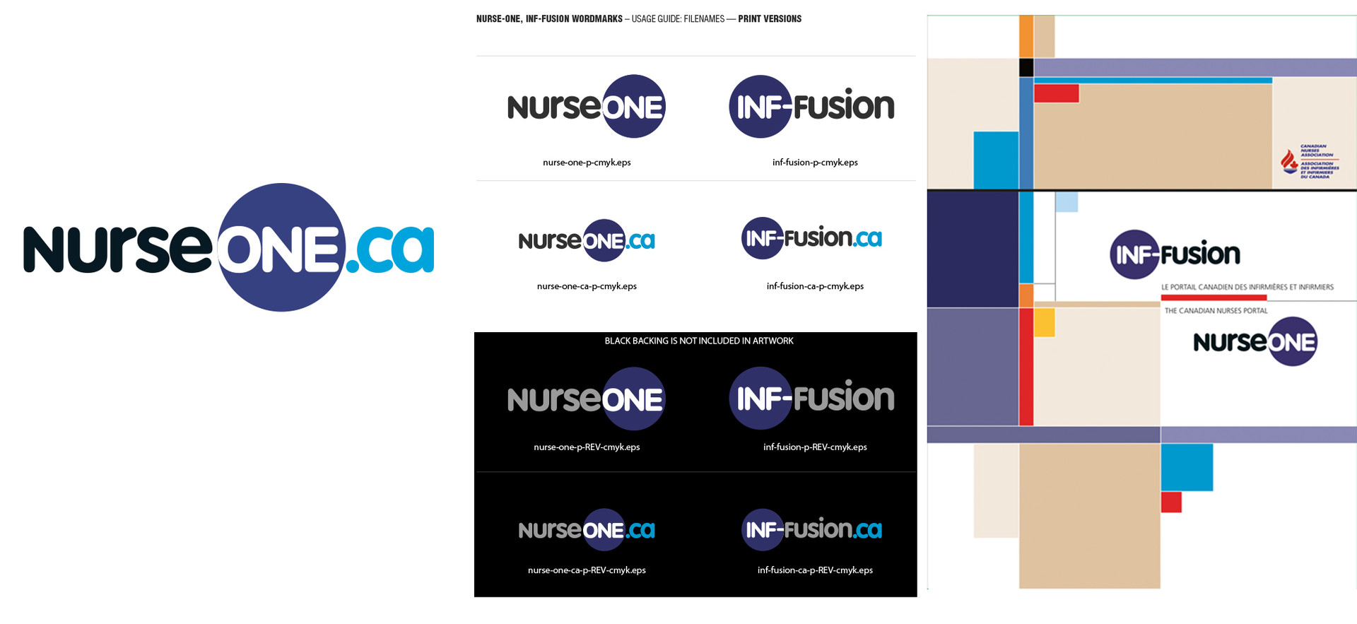NurseOne.ca logo & applications