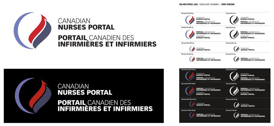 CNA-portal logo & application guide