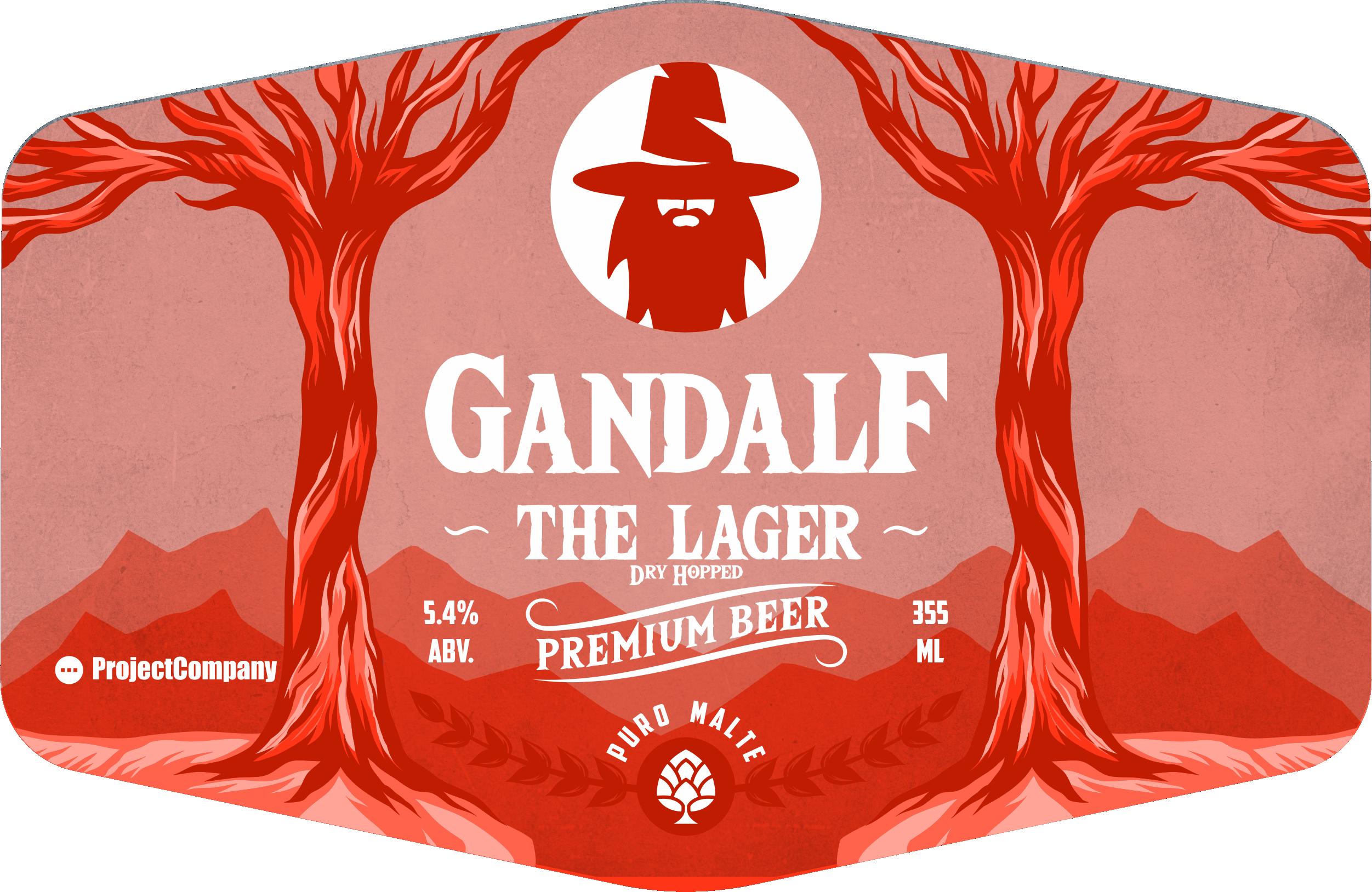 Gandalf Beer Lager - Dry Hopped