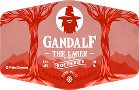 Gandalf Beer The Lager - Dry Hopped.png