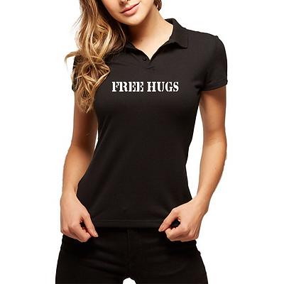 Camiseta Feminina - Modelo Free Hugs