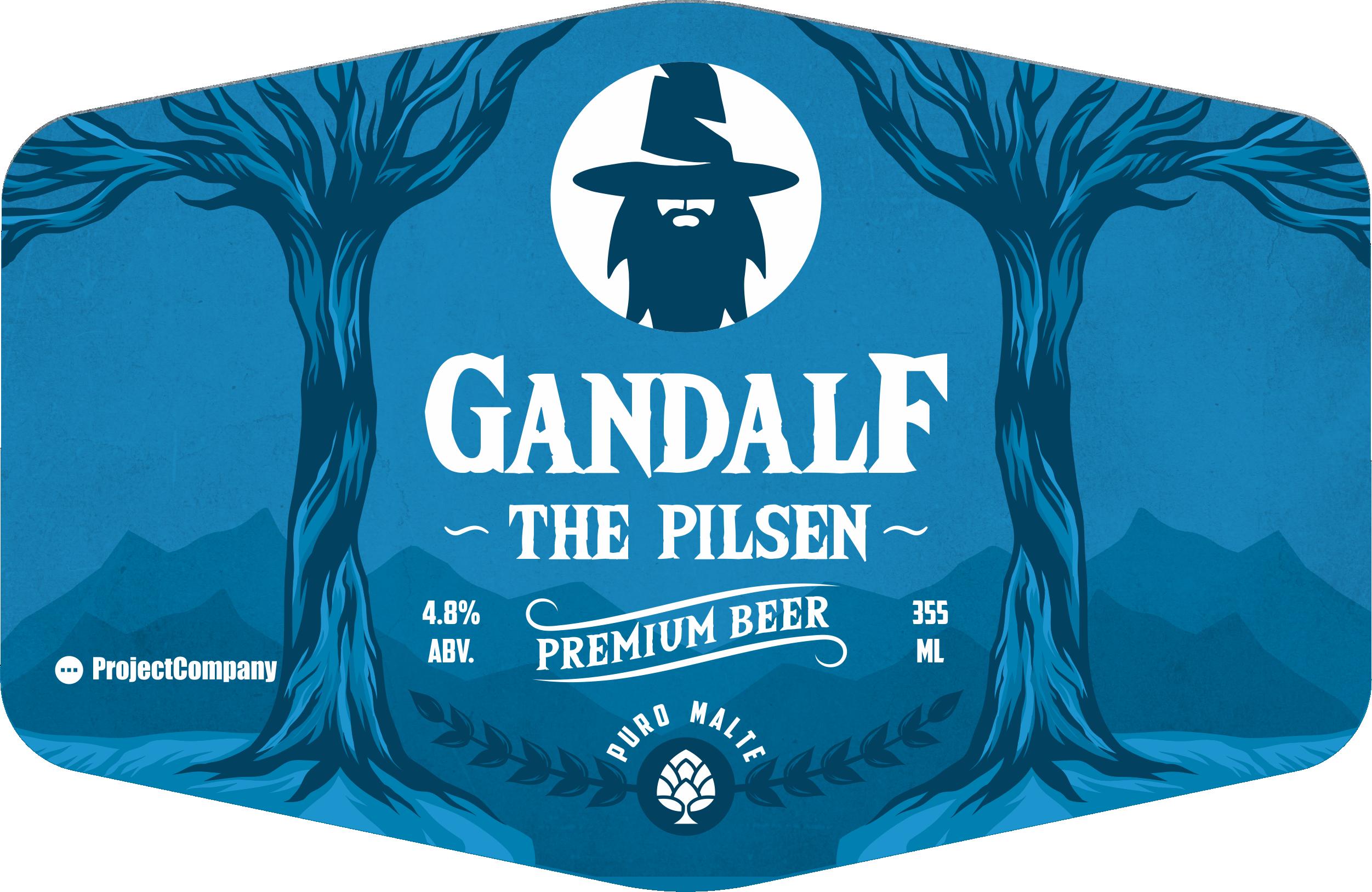 Gandalf Beer Pilsen