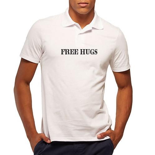 Camiseta Masculina - Modelo Free Hugs