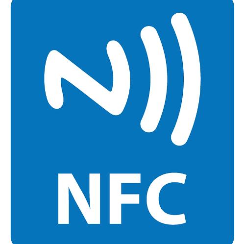 10 ETIQUETAS TAGS NFC RFID 13.56MHz