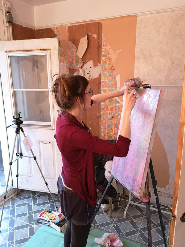 20min painting_Live streaming_Art Battle Online