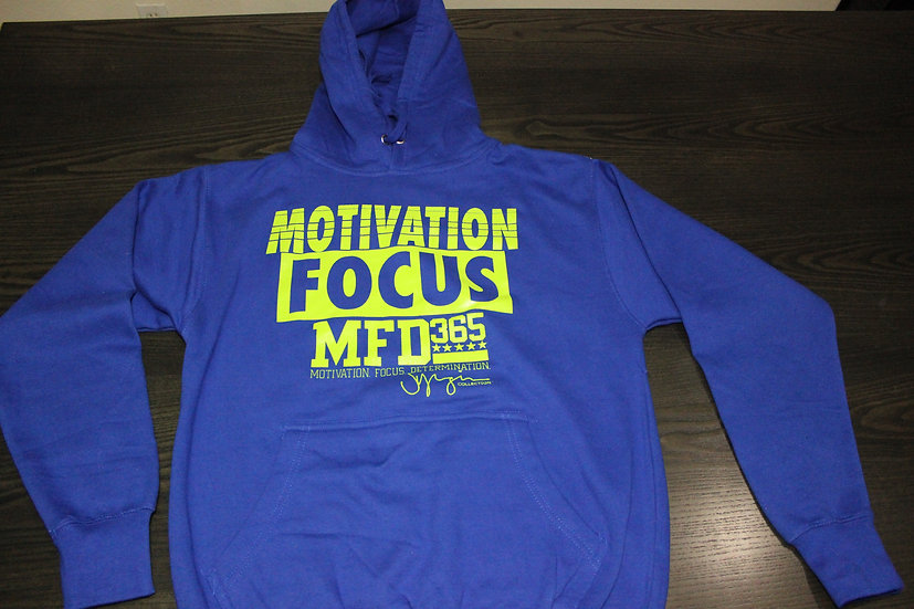 NEW LADIES ROYAL BLUE HOODIE