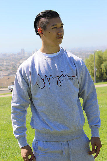 JYOUNGIN COLLECTION SIGNATURE CREWNECK