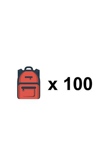 100 KIDS SPONSORED