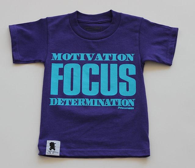 Kids Purple Motivation Focus Determination