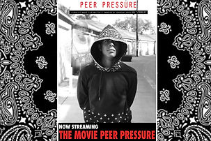 """This is an independent film called """"Peer Pressure"""" written, directed and filmed by teen entrepreneur Jeremiah Jones.  The focus of this film was to fight bullying with a positive message of """"finding someone to talk to"""".  with so many teens having social issues of suicide, school problems, social media bullying, it was vital for Jyoungin & Co. to give an outlet though this film."""