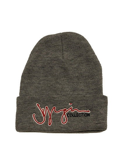 Grey JYoungin Collection Beanie