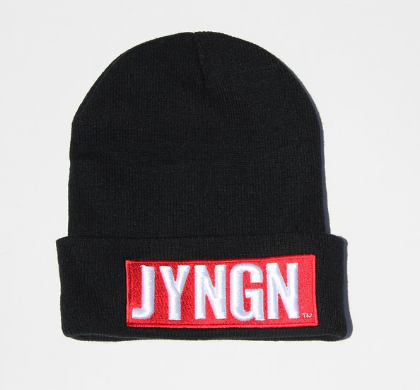 Black JYNGN Beanie