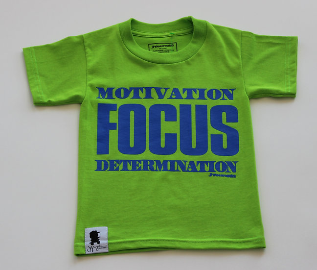 LIME-BERRY FOCUS TEE