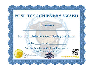we are excited to announce that our positive achievers awards have recognized over 100K students and Athletes since 2009.  They are also free for digital download here on our site.  www.jyoungin.org