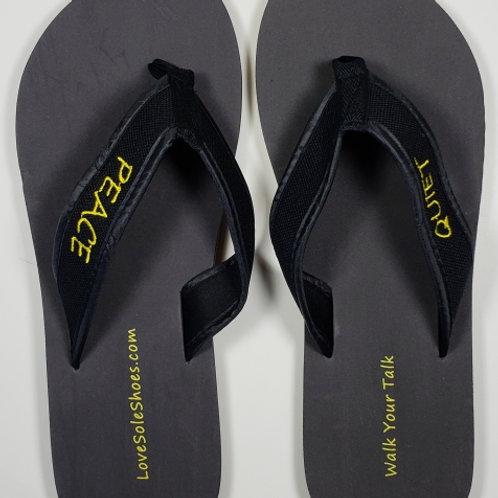 Peace/Quiet Flip Flops - Wholesale