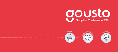 GOUSTO SUPPLIER CONFERENCE