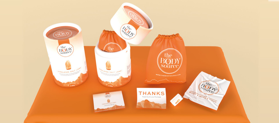 HIMALAYAN SEA SALT LAMP PACKAGING