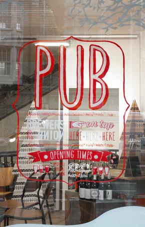 KENSINGTON WINDOW PUB