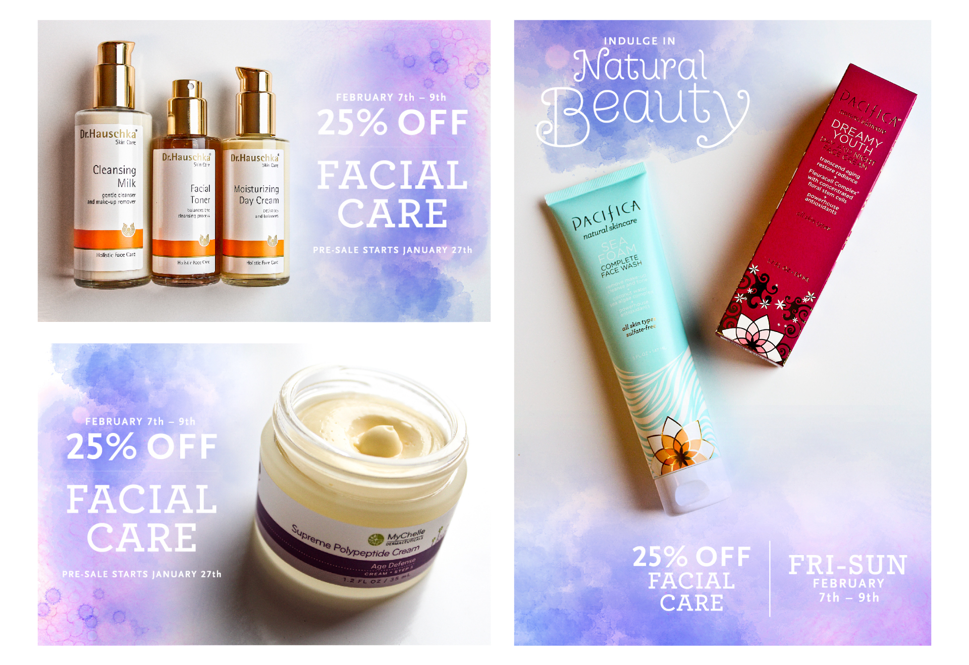 Facial Care/Makeup Sale