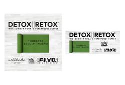 Detox II Retox Yoga and Supper Event