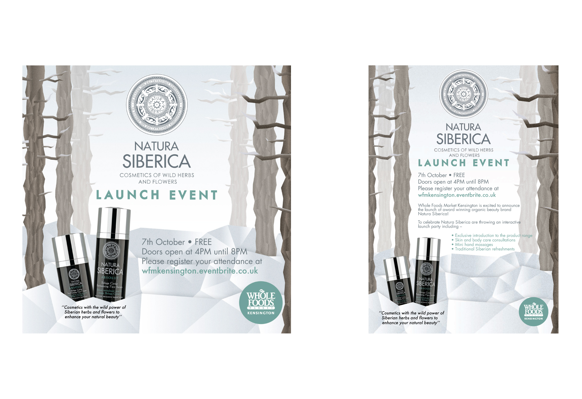 Natura Siberica Product Launch Event
