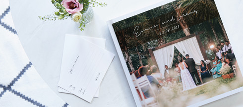 WEDDING BOOK DESIGN SERVICE