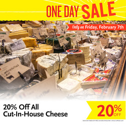Cheese One Day Sale