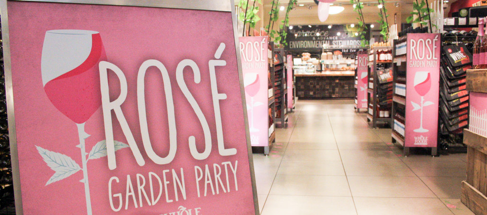 ROSE GARDEN PARTY IN-STORE CAMPAIGN