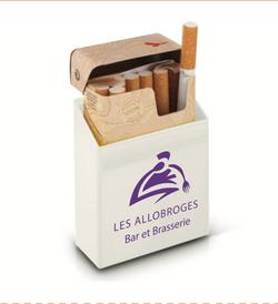 Etui boîte de cigarettes